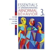 Essentials of Understanding Abnormal Behavior, 3rd