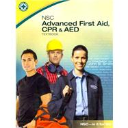 NSC Advanced First Aid, CPR & AED (Book with DVD)