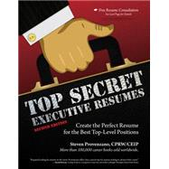 9781435460409 top secret executive resumes knetbooks