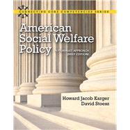 American social welfare policy a pluralist approach