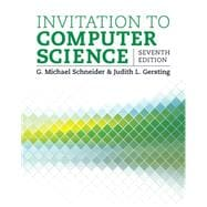 9781305075771 Invitation To Computer Science Knetbooks