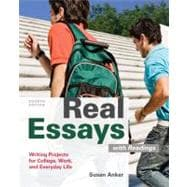 real essays with readings anker Find 9781457664366 real essays with readings : writing for success in college, work, and everyday life 5th edition by anker at over 30 bookstores buy , rent or sell.